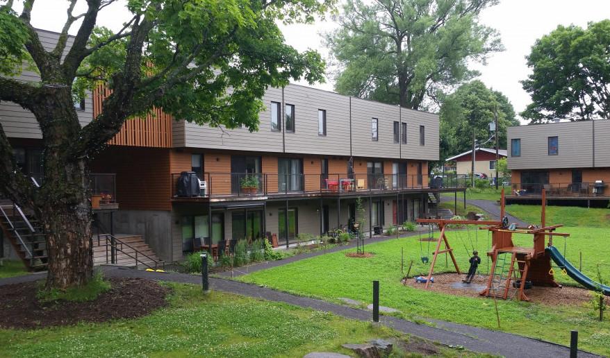 Qué es cohousing